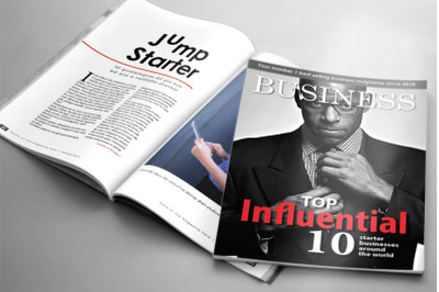 32 Page Business Magazine Template