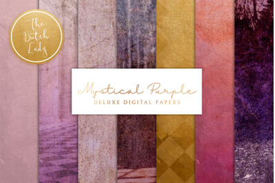 Mystical Purple Digital Backgrounds