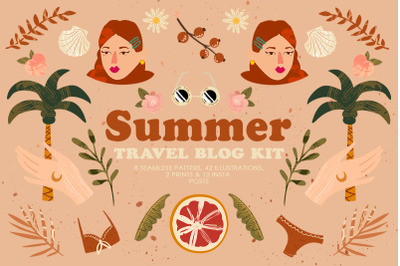 Summer Travel Blog Kit