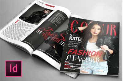 COLOUR, a Fashion Magazine Template