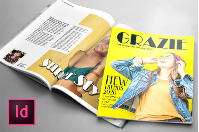 GRAZIE, a Fashion Magazine Template