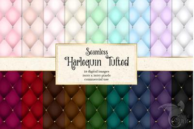 Harlequin Tufted Digital Paper
