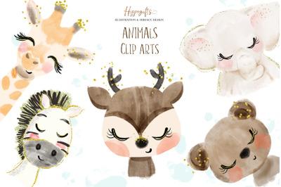 Animals cliparts