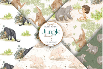 Jungle patterns,Woodland patterns