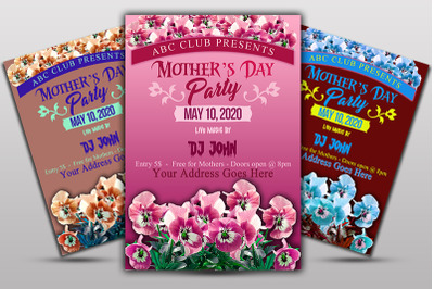 Mother Day Floral Flyer