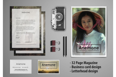 ANEMONE: Visual Stationary Template