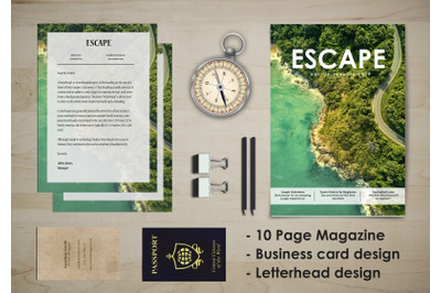 ESCAPE, Travel Stationary Kit