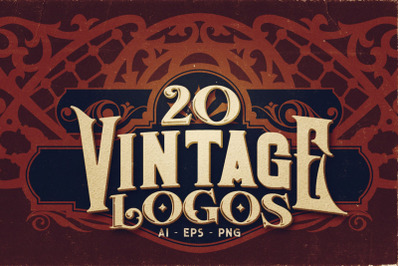 20 Vintage Logos