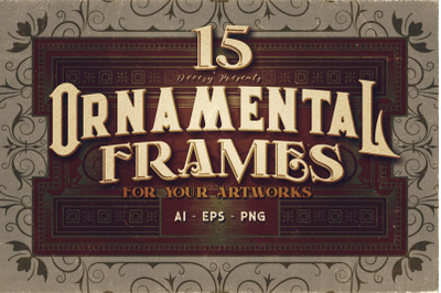 15 Ornamental Frames