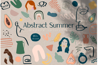 Abstract Summer Modern Collerction
