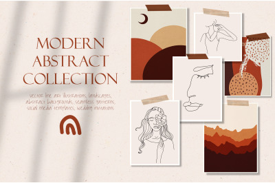 Modern abstract collection
