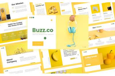 Buzz Creative Business Presentation