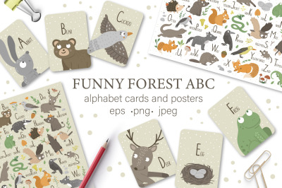 Funny Forest ABC
