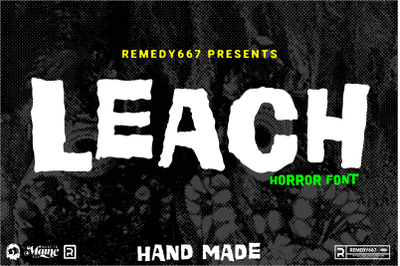 Leach - Handmade Horror Display
