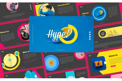Hype Creative Business Presentation