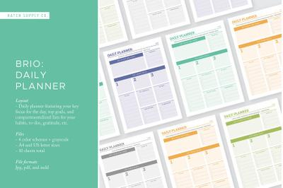 Brio: Daily Planner