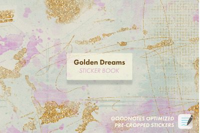 Golden Dreams - Sticker Book