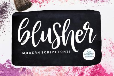 Blusher Script