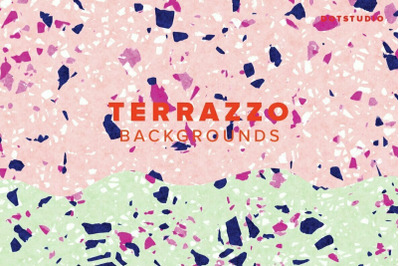 Terrazzo backgrounds