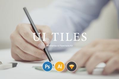 UI Tiles: Website Flowcharts