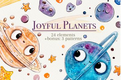 Joyful Planets set +bonus: 3 patterns