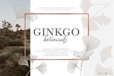 Ginkgo Botanicals - Florals & Leaves
