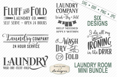 Laundry Room SVG Bundle