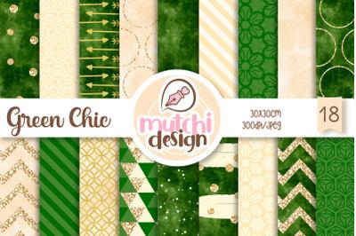 Green Chic Patterns