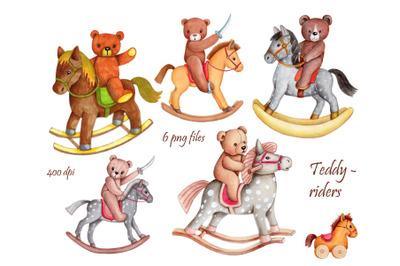 Teddy Bears Riders