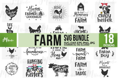 Farm SVG bundle