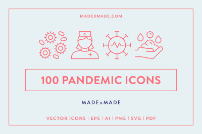 Line Icons - Pandemic