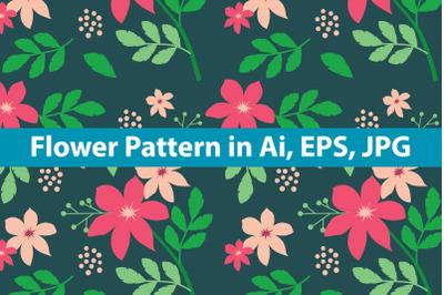 Flower Pattern Art