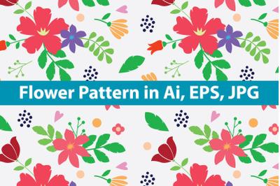 Flower Pattern Minimalist