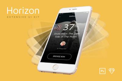 Horizon Mobile UI Kit