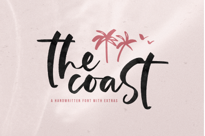 The Coast - Handwritten Script Font with Extras!
