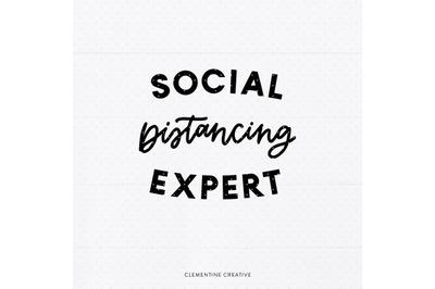 Social Distancing Expert SVG