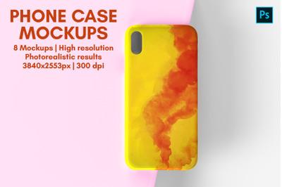 Phone Case Mockup - 8 Views