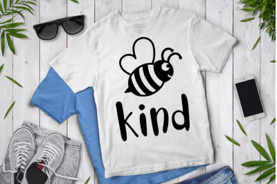 Bee Kind SVG, Be Kind Svg, Kindness Svg, , Bee Kind Clipart.