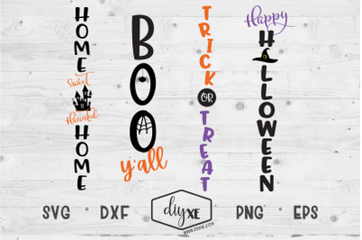 Halloween Front Porch Sign Bundle