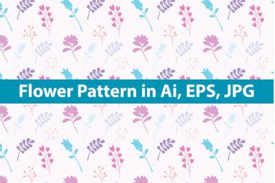 Kawai Flowers Pattern