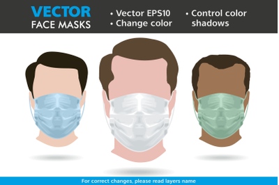 Medical Face Mask Vector