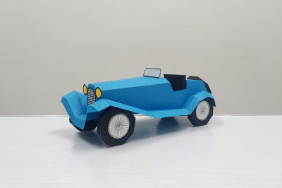 DIY Vintage Car - 3d papercraft