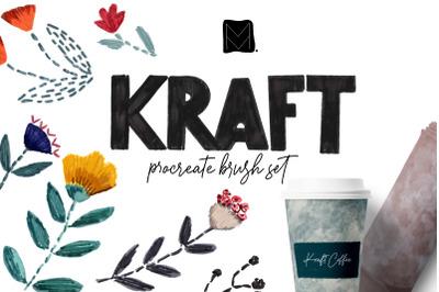 Home Kraft Procreate Brush Set