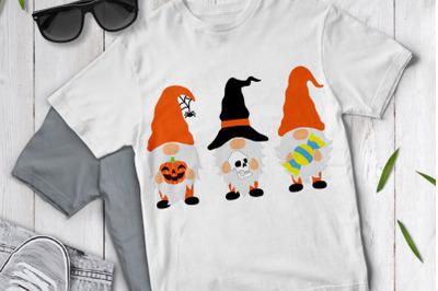 Halloween Gnome SVG,  Gnomes SVG, Halloween Gnome Clipart