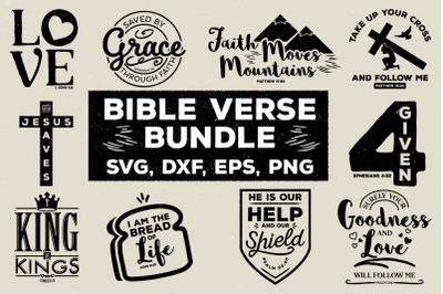Bible Verse Bundle
