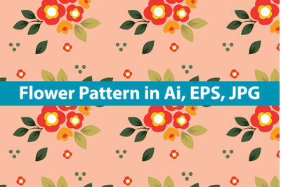 Flower Pattern Art Illustration