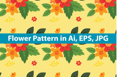 Flower Pattern Art Design
