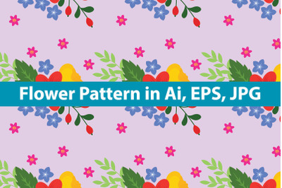 Flower Pattern Cute Art
