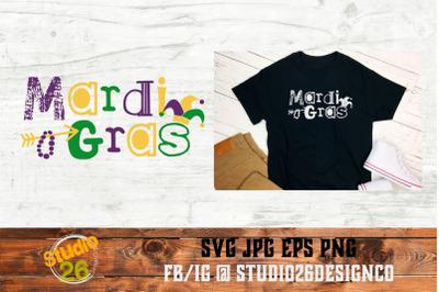 Mardi Gras - Jester Hat - SVG PNG EPS