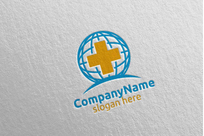 Cross Global Medical Hospital Logo 34
